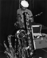 Musician with the Art Ensemble of Chicago (A.E.C.) [descriptive]
