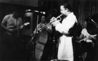 Art Ensemble of Chicago (A.E.C.) performing in Los Angeles, California, 1978 [descriptive]