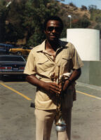 Oscar Brashear at the Hollywood Bowl, 1984 [descriptive]