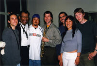 Anthony Braxton with Gustavo Aguilar's band in Albuquerque, New Mexico, 2003 [descriptive]
