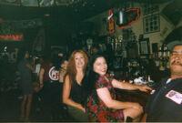 Nancy and friend at bar