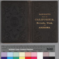 Bancroft's map of California, Nevada, Utah and Arizona [cover]
