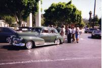 Parking lot at Gus wedding