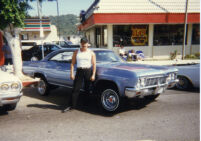 Steve next to low rider