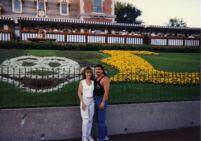 Steve and Nancy at Disneyland