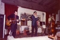 Rod Piazza and The Mighty Flyers in La Verne, California, 1983 [descriptive]