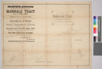 Map of the McDonald Tract, Rancho San Pedro, Los Angeles Co., Cal,