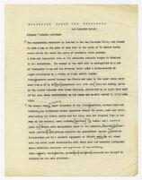 Description of residence for Josef von Sternberg, draft 1