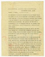 Description of residence for Josef von Sternberg, draft 3