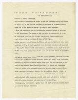 Description of residence for Josef von Sternberg, draft 4