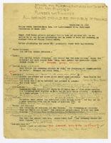 Checklist for Palmer Steel Construction Inc., Los Angeles, California, 1935