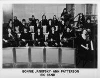 Bonnie Janofsky and Ann Patterson Big Band, early 1980s [descriptive]