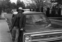 Musician Ken Keppeler of in Albuquerque, 2000 [descriptive]
