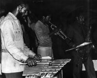 Harold Land, Rickey Kelly, and Nolan Smith performing in 1981 [descriptive]