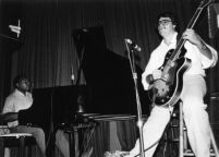 Steve Masakowski performing with Ellis Marsalis in New Orleans, 1982 [descriptive]