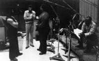 "Alphonso White, Kaeef, Jeff Clayton and Wilbert ""Jiggs"" Helmsley in Los Angeles, 1981 [descriptive]"