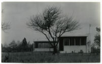 Beard House, exterior, Altadena, California, 1934