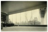 Beard House, furnished interior, Altadena, California, 1934