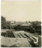 Beard House, metal beams, Altadena, California, 1934