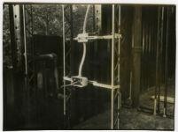 Beard House, metal beams and electrical work, Altadena, California, 1934