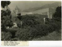 Beard House, exterior south eastern view, Altadena, California, 1934