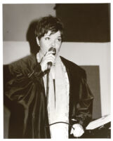 Karrin Allyson singing in Los Angeles, December 1999 [descriptive]
