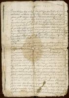 Testament of Juan Baes, et al., San Juan Ixtenco, Tlaxcala