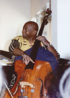Art Davis playing the double bass in Los Angeles, California, July 1997 [descriptive]