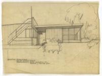 Beard House, addition to residence, Altadena, California, 1947