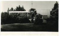 Beard House, rear view of exterior, Altadena, California, 1934