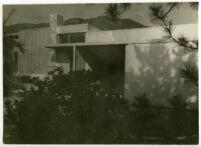 Beard House, exterior northern view, Altadena, California, 1934