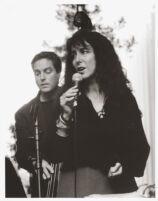 Cathy Segal-Garcia singing in Los Angeles [descriptive]