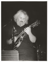 David Grisman playing the mandolin in Los Angeles, February 1997 [descriptive]