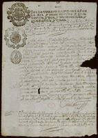 Compilation of petitions, and Will of Ysabel Clara