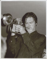 Tom Harrell playing the flügelhorn, Los Angeles, August 1996 [descriptive]
