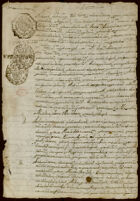 Will of Domingo de la Cruz, and Statement on the death of Domingo Rosales