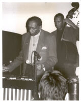 Milt Jackson with John Clayton at the Catalina Bar & Grill, Hollywood, February 1996 [descriptive]