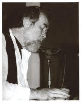 Roger Kellaway playing piano, Los Angeles [descriptive]