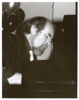 Roger Kellaway playing piano, Los Angeles [descriptive]