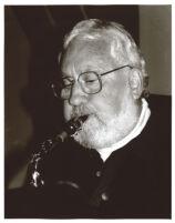Lee Konitz playing the saxophone, Los Angeles, October, 1995 [descriptive]