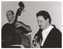 Larry Koonse with Scott Colley in Los Angeles, February, 1997 [descriptive]