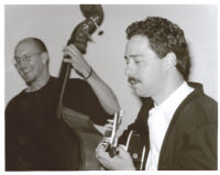 Scott Colley playing double bass and Larry Koonse playing guitar, Los Angeles, February, 1997[descriptive].