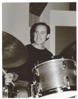 Joe LaBarbera playing drums in Los Angeles, June 1999 [descriptive]