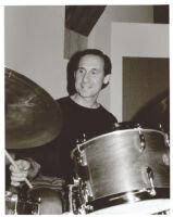 Joe LaBarbera playing drums in Los Angeles, June 1999 [descriptive]