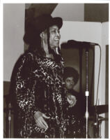 Abbey Lincoln singing in Los Angeles [descriptive]