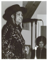 Abbey Lincoln singing in Los Angeles [descriptive]