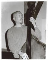 Scott Colley playing the double bass, Los Angeles, June 19, 2001 [descriptive]