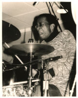 Unidentified drummer, possibly Brian Blade [descriptive]