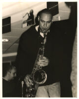 Joshua Redman playing saxophone in Los Angeles [descriptive]