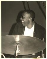 Unidentified drummer, possibly Brian Blade [descriptive]